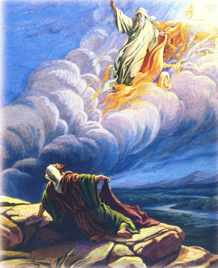 Image result for elijah taken in a whirlwind